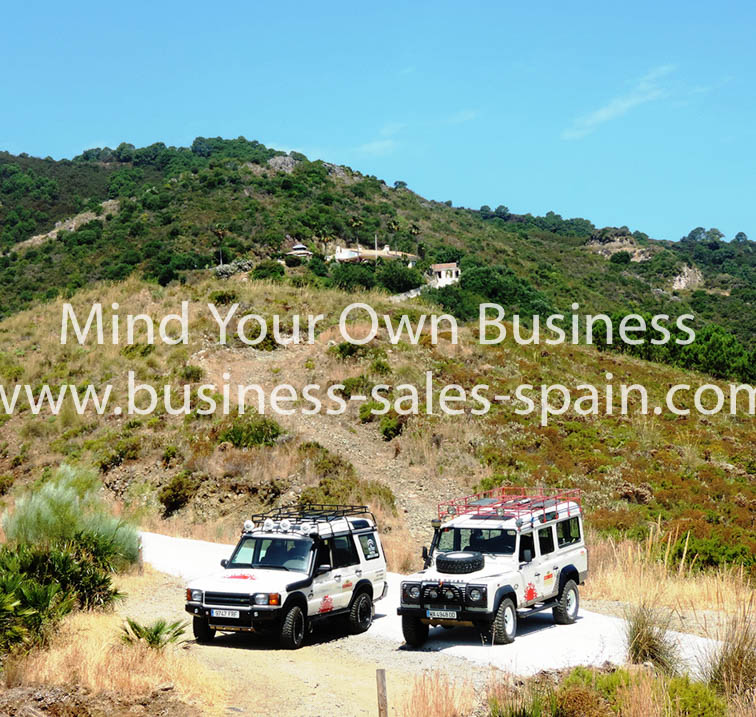 Jeep Safari Tour Business – Marbella