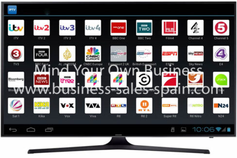 IPTV apk on TV