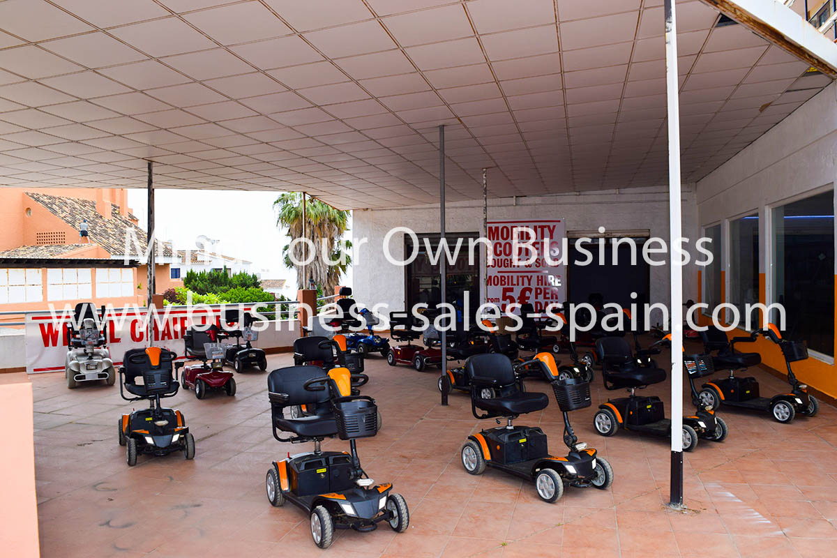 Mobility Scooter and Wheelchair Hire Business In Mijas Costa