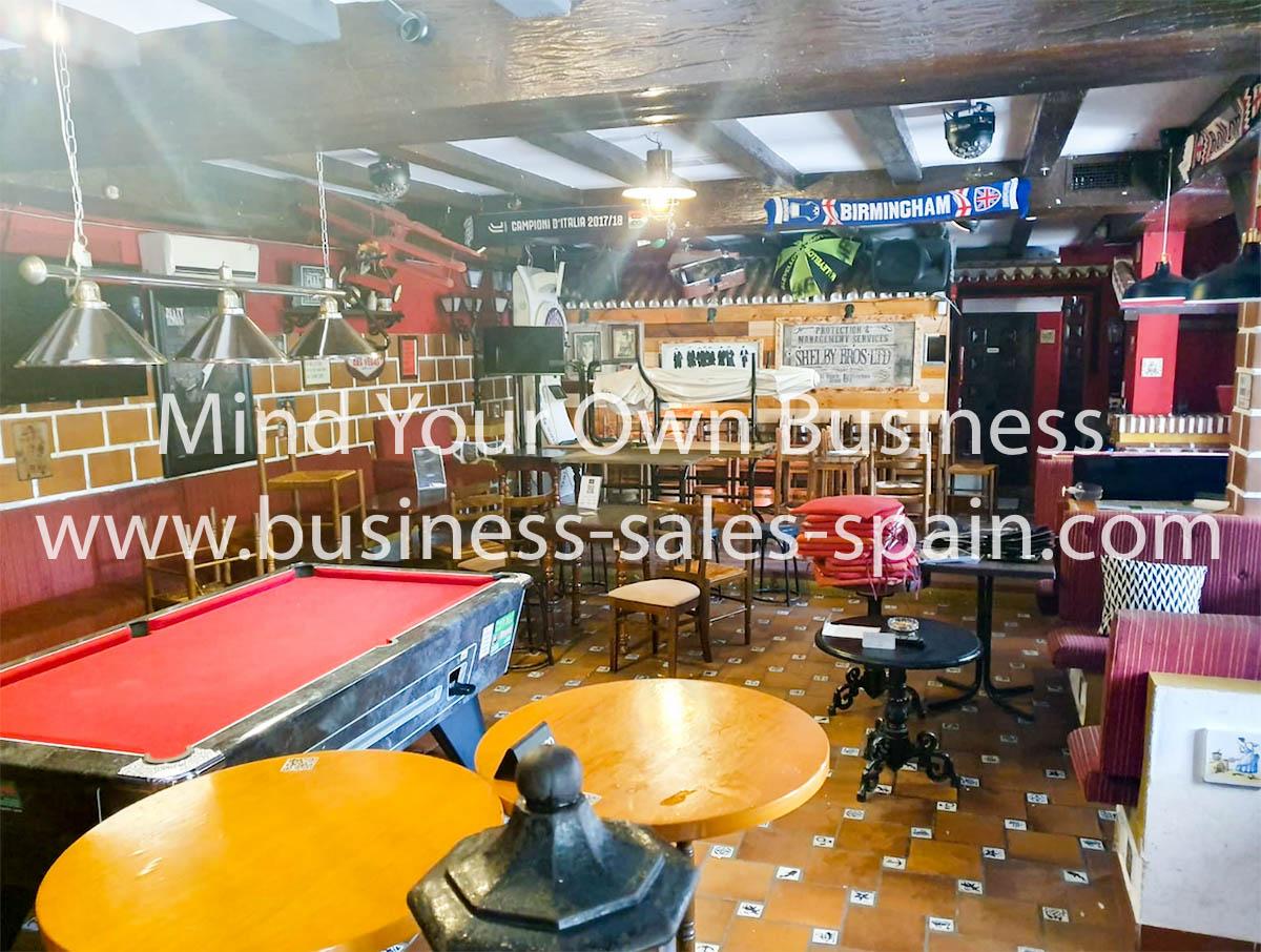 Lovely Irish Bar in Playamar Torremolinos
