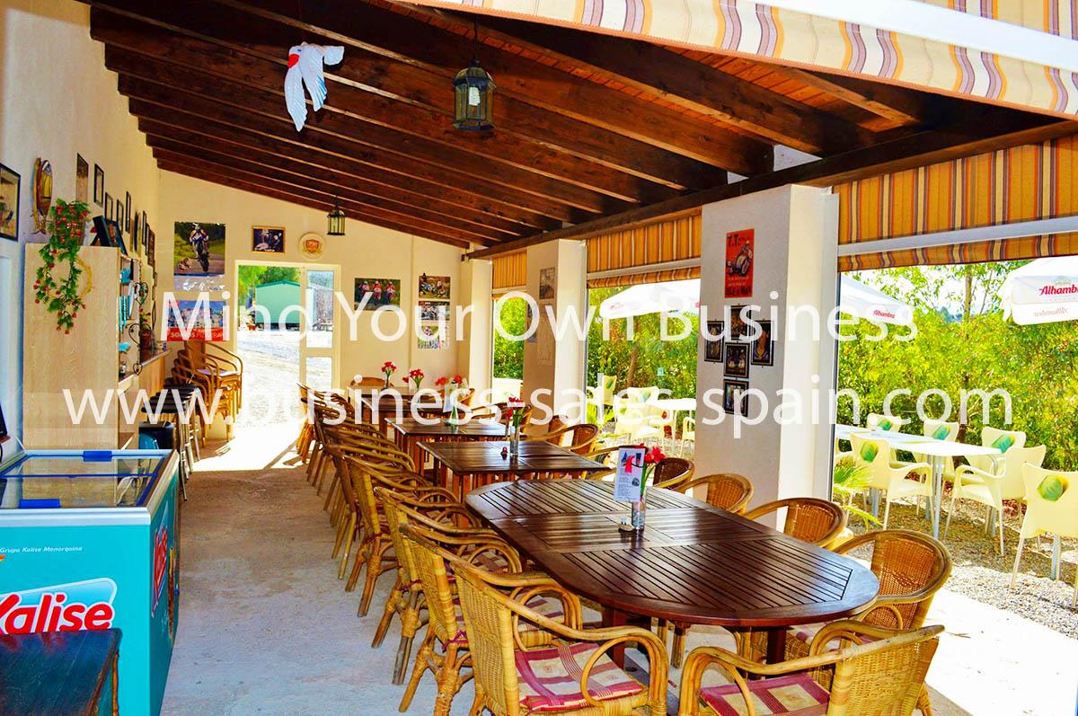 Bar / Restaurant on Campsite Near Alora